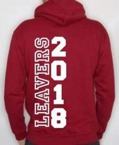 Leavers Hoodie 2018