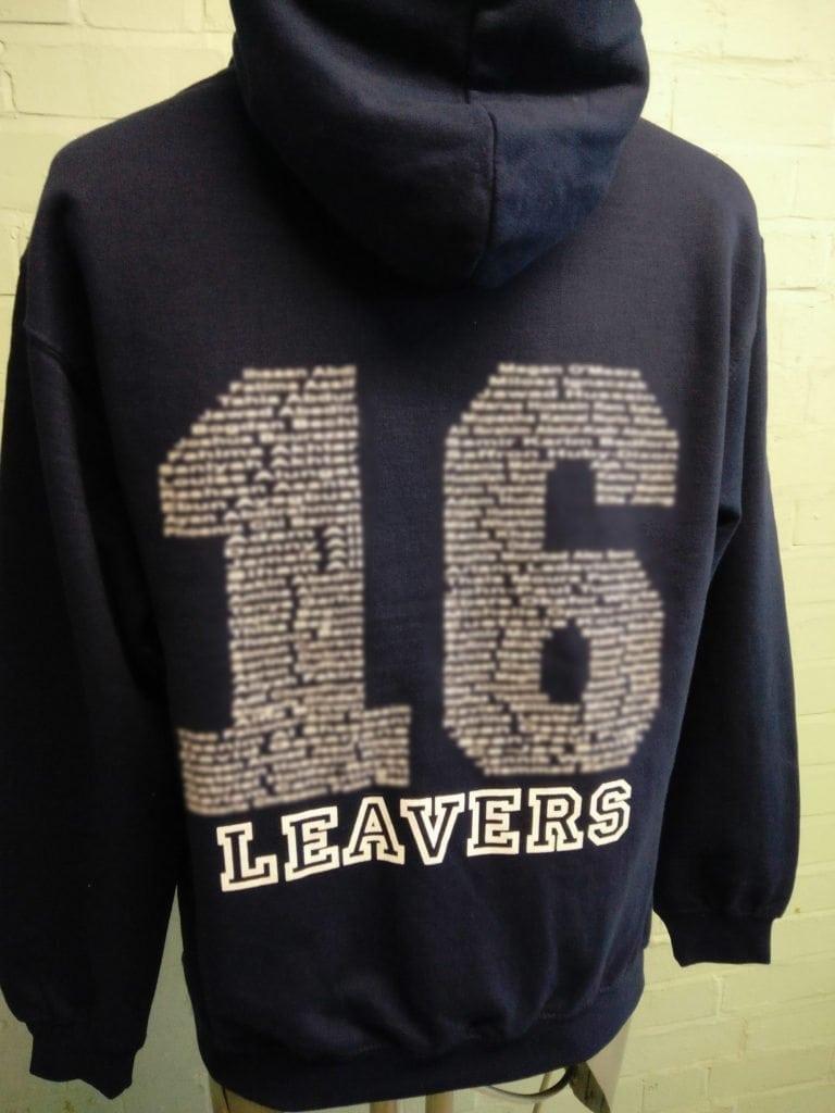 Leavers Hoodies 2016 Class