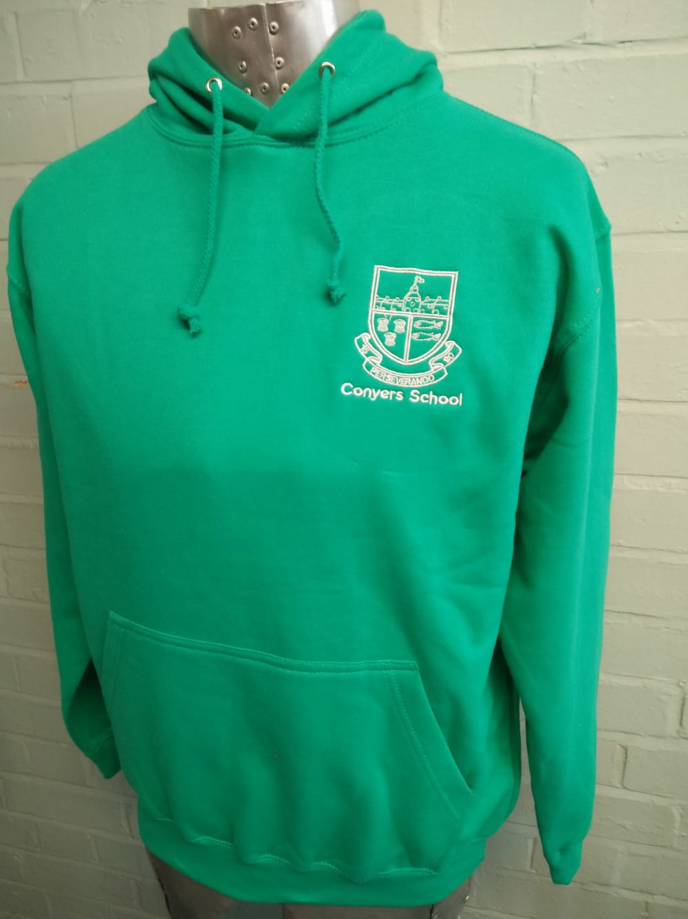 Green Printed 2016 Leavers Hoodies