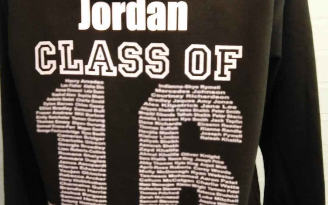 Class of 2016 Printed Hoodies