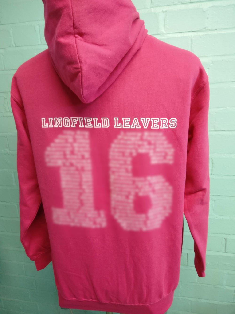 Lingfield Leavers 2016 Zippy Hoodies