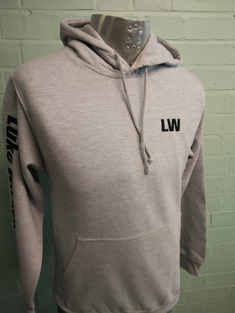 Marl Custom Grey Leavers Hoodies 2016