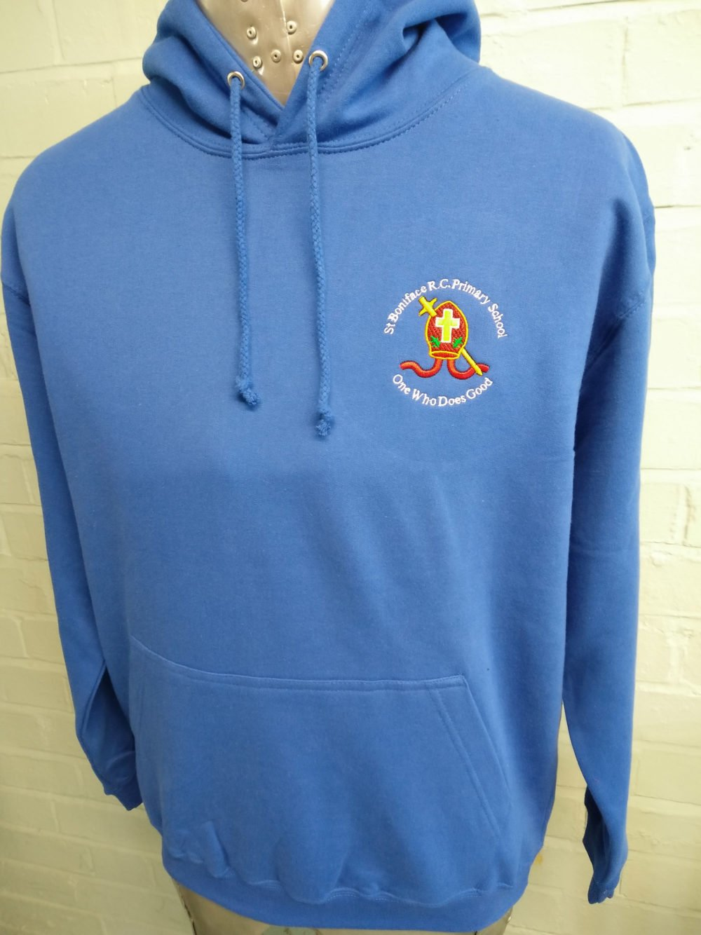 Class of 2016 Blue Leavers Printed Hoodies