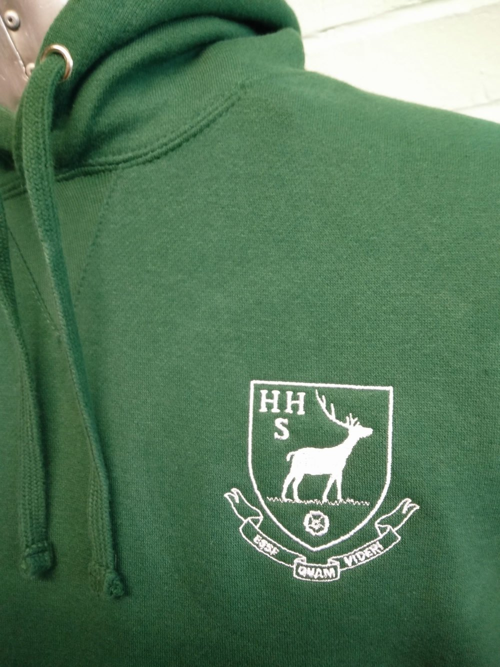 Custom Names Leavers Hoodies in Green 2016