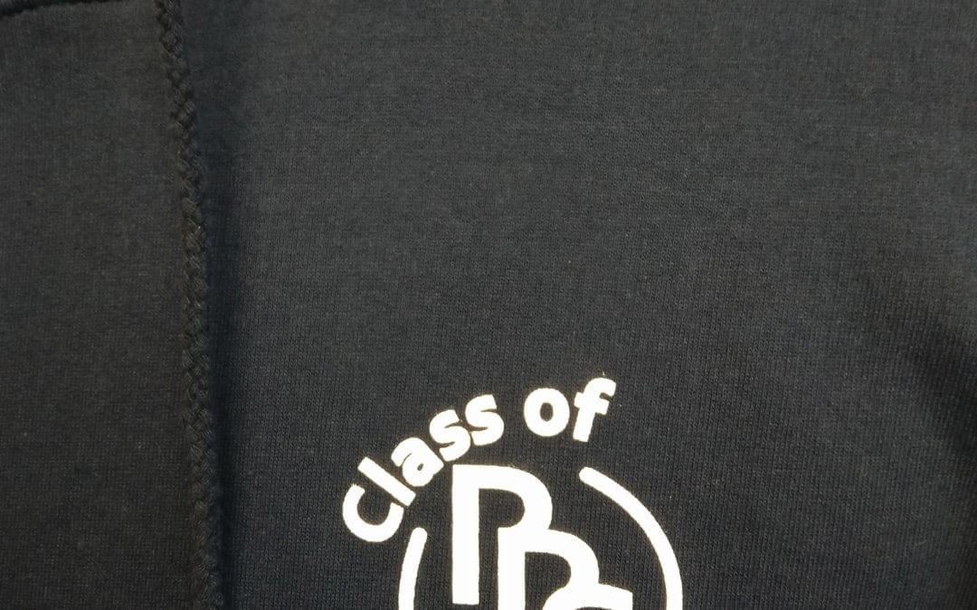 RRS Class of 2016 Black Leavers Logo Print Hoodies