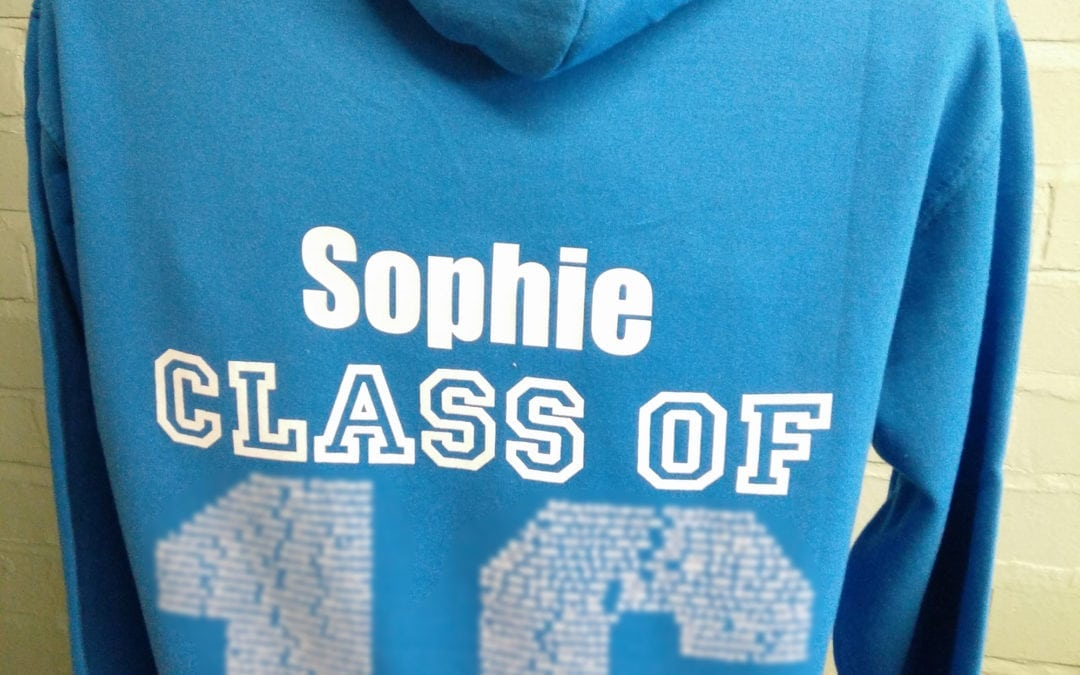 Blue Class of 2016 Leavers Hoodies