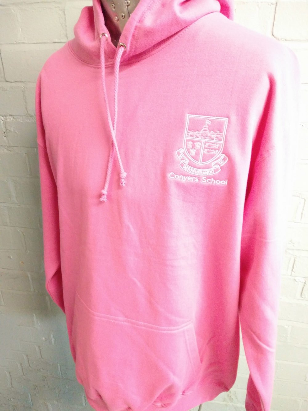Conyers School Pink Leavers Hoodies 2017
