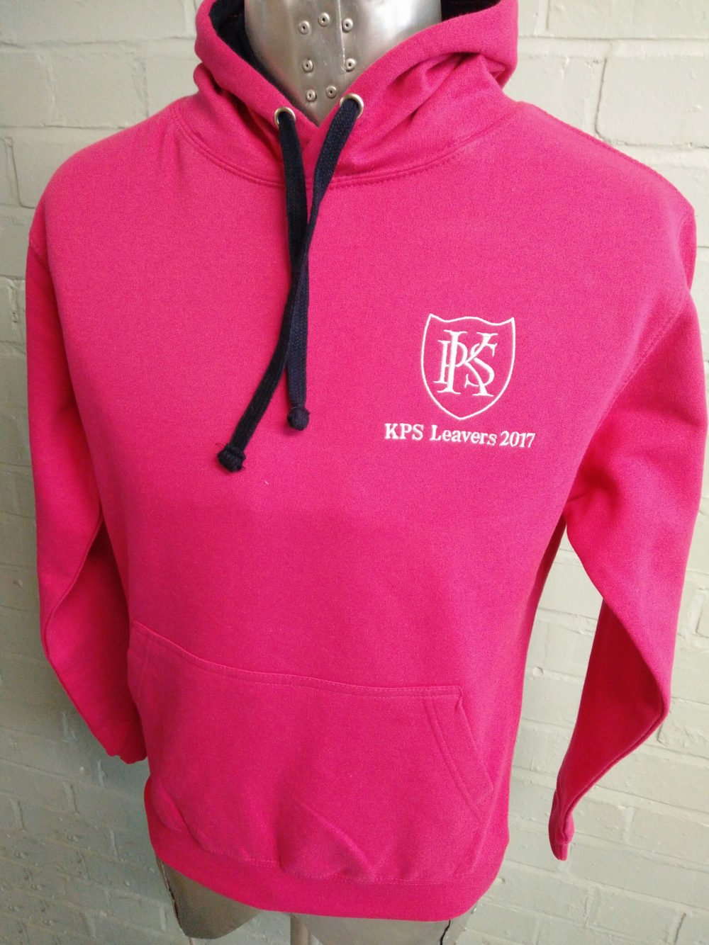 KPS Leavers 2017 Pink Hoodies