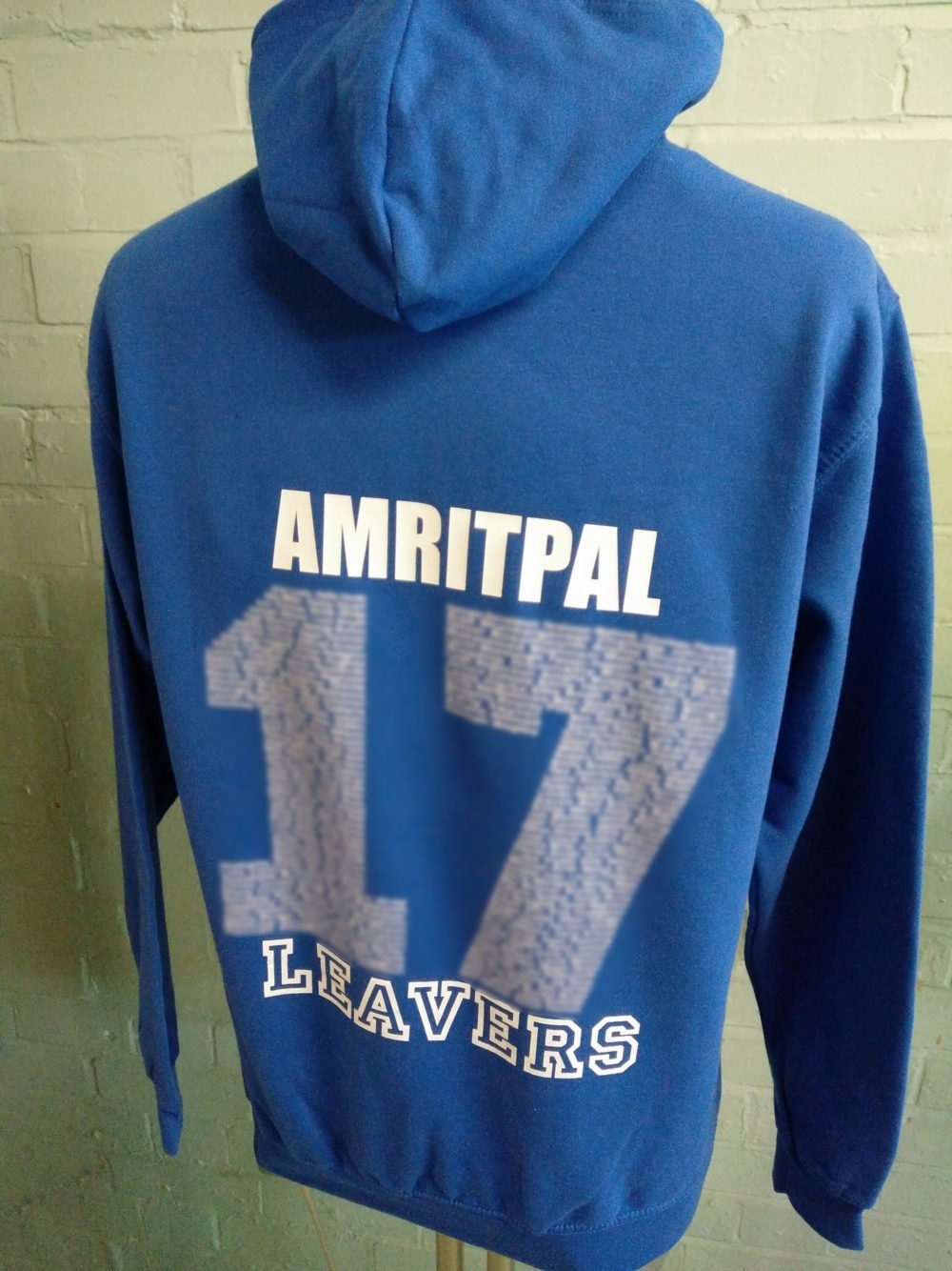 Conyers School Blue Leavers Hoodies 2017