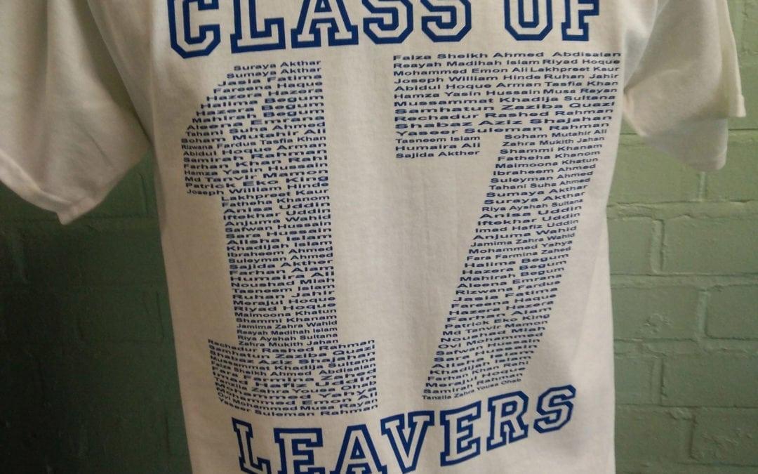 John Scurr 2017 Leavers T-Shirts
