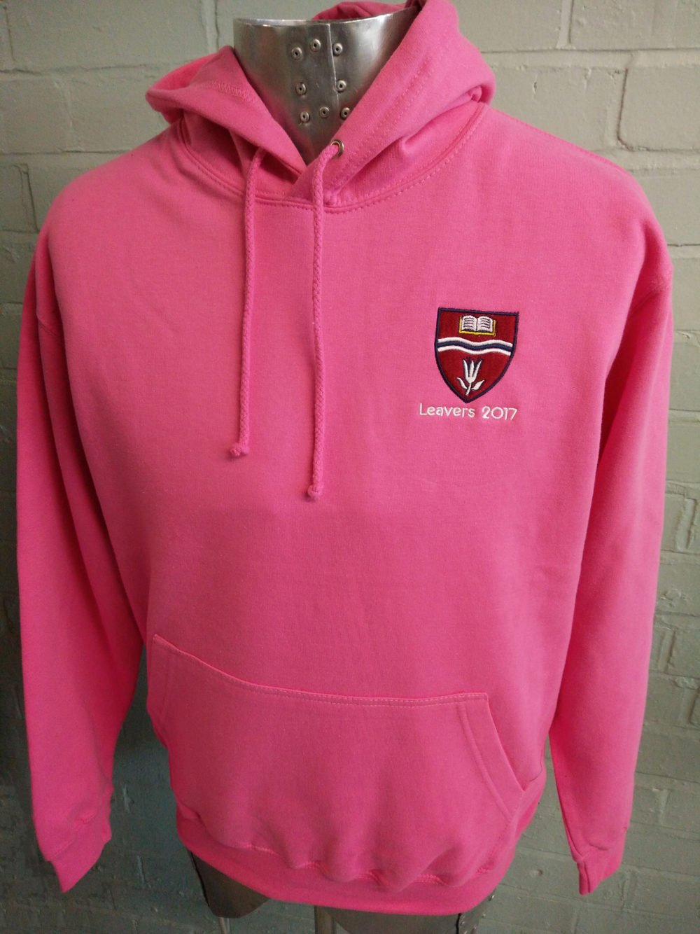Pink Leavers Hoodies 2017