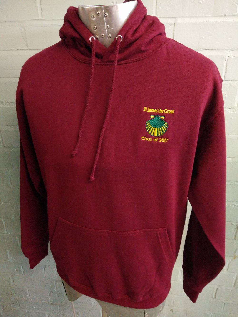 St James The Great Class of 2017 Leavers Hoodies
