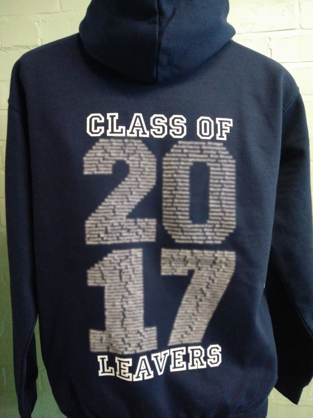 Abbots Navy Leavers Hoodies 2017