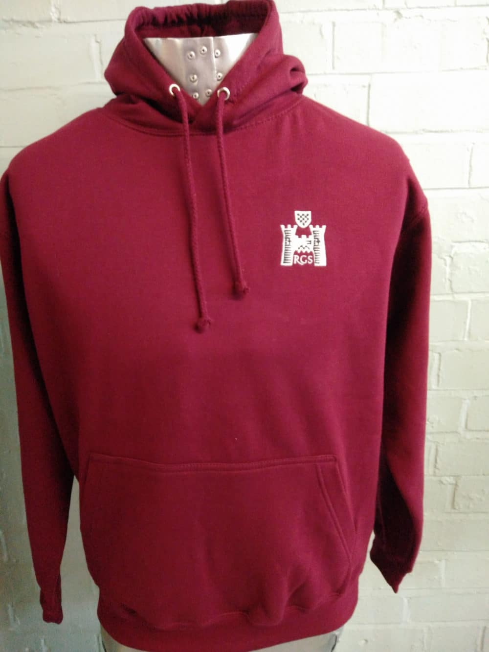 RGS Burgundy Leavers Hoodies 2017