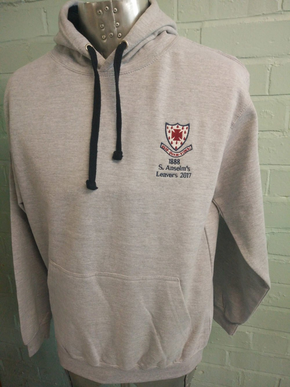 Anselm's Leavers 2017 Marl Custom Hoodies