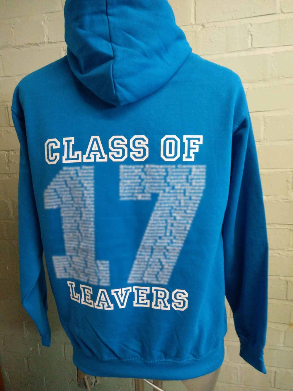 Canongate Leavers Hoodies 2017