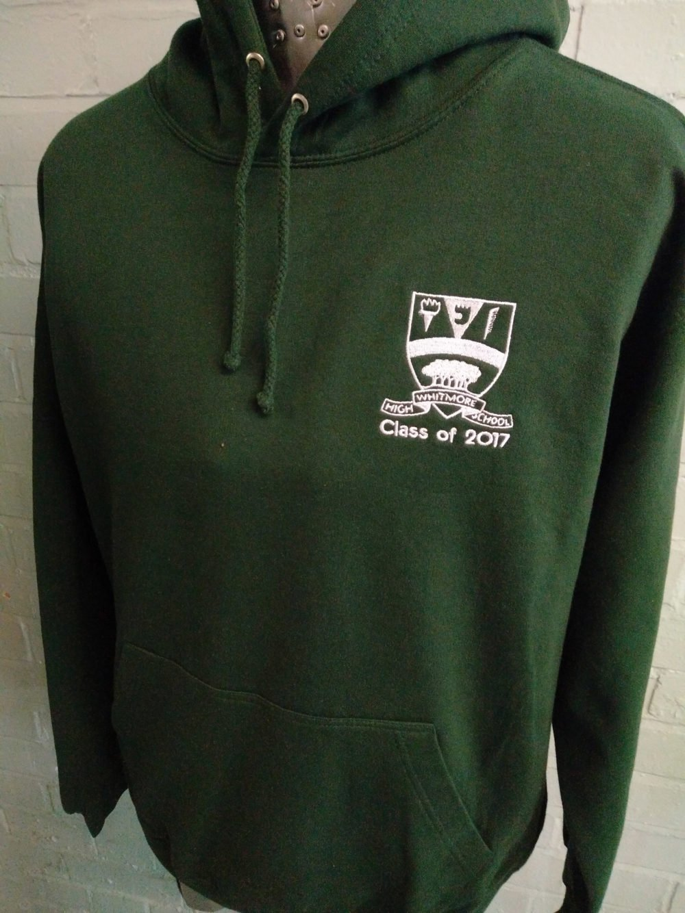 Green Class of 2017 Leavers Hoodies