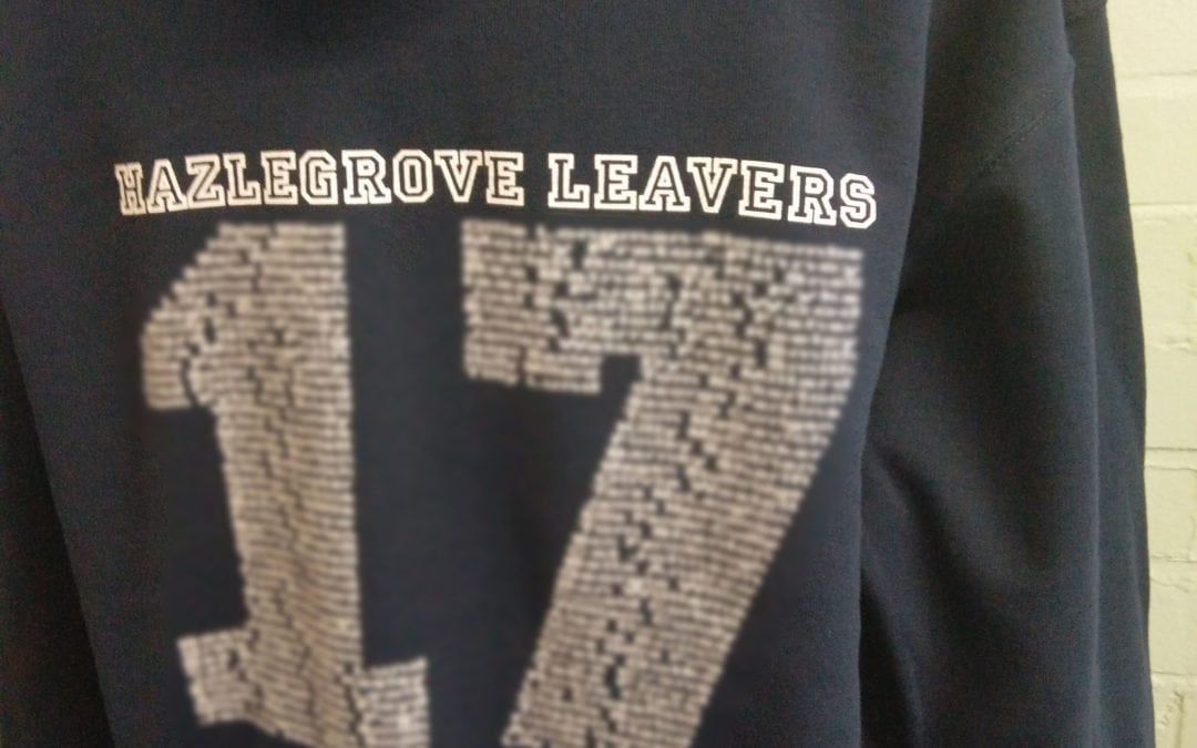 Hazlegrove 2017 Black Leavers Hoodies
