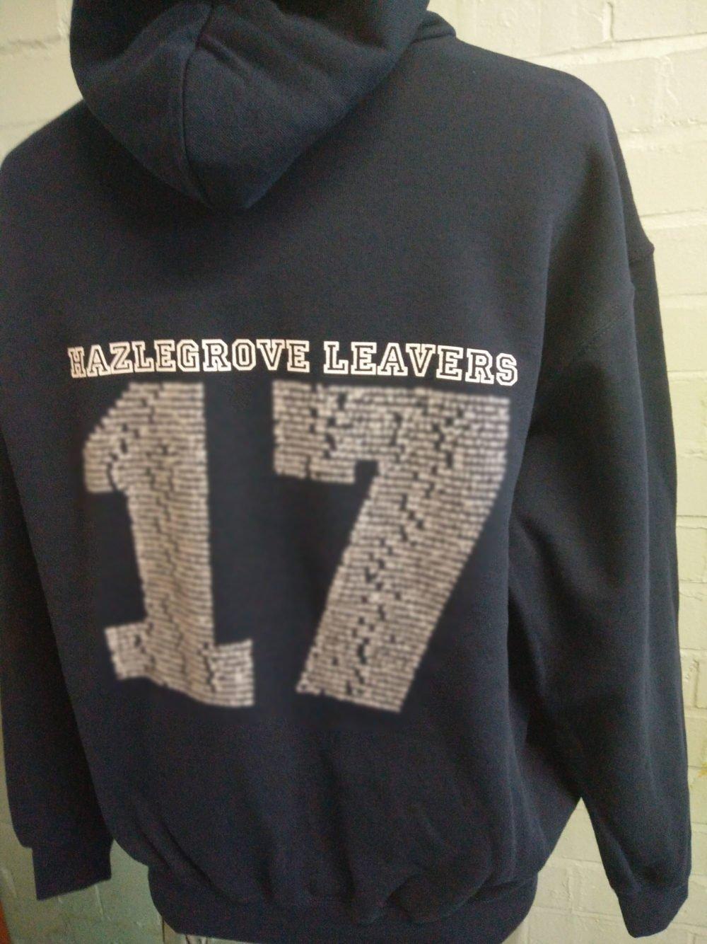 Hazlegrove 2017 Black Leavers Hoodies