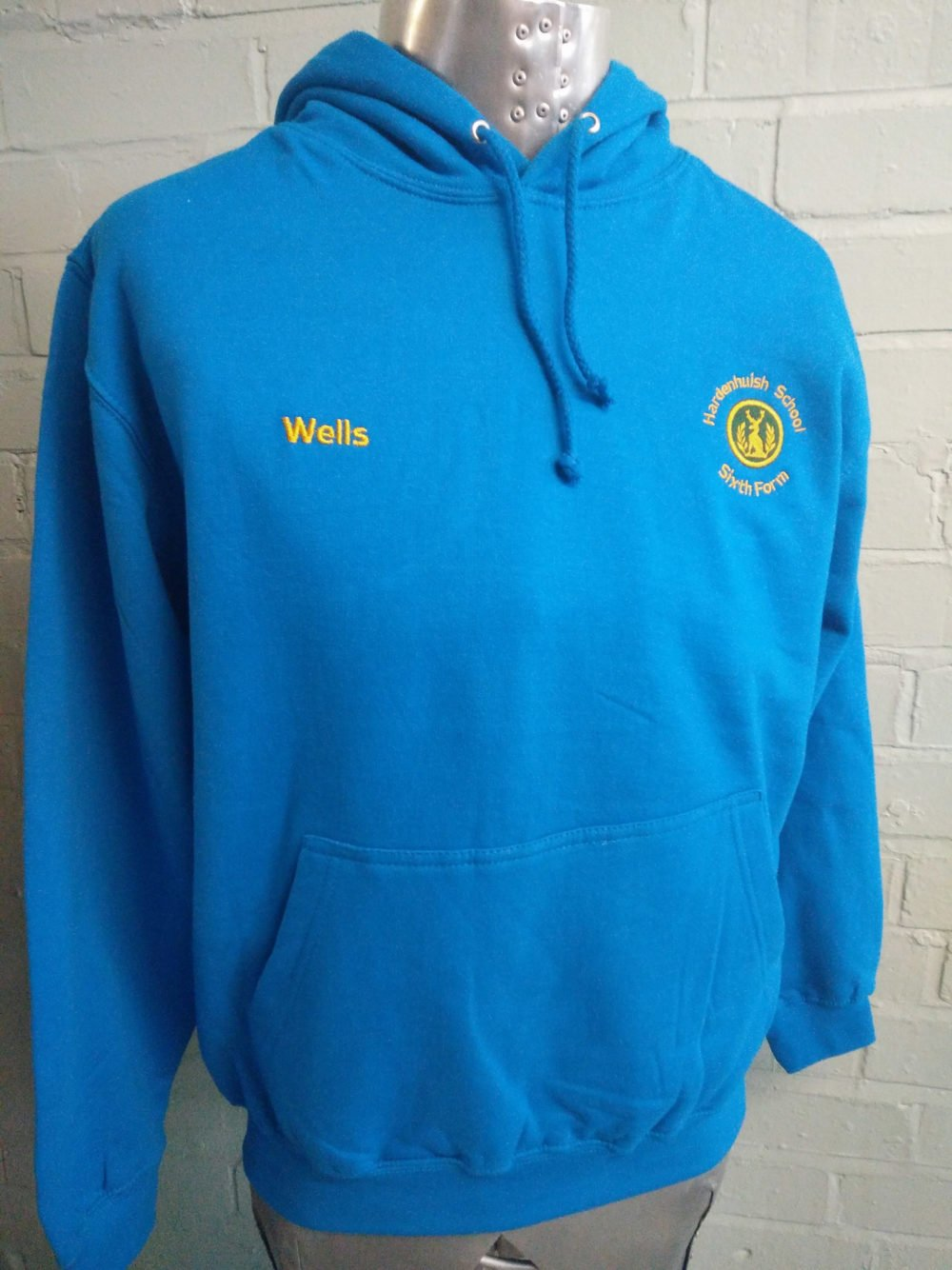 Sixth Form Leavers 2017 Blue Custom Hoodies