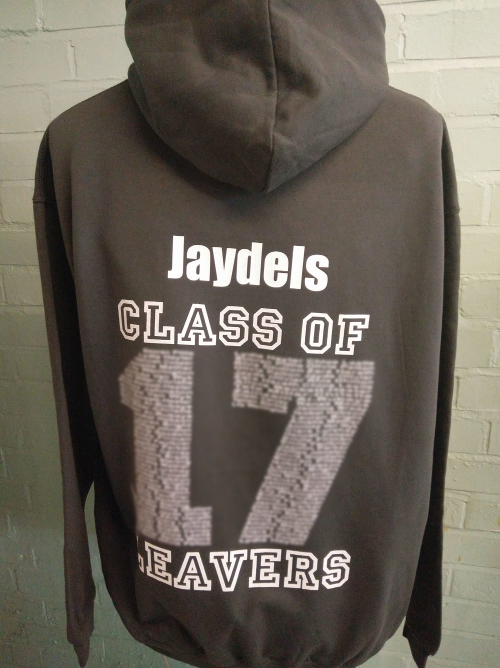 Dark Grey 2017 Leavers Hoodies