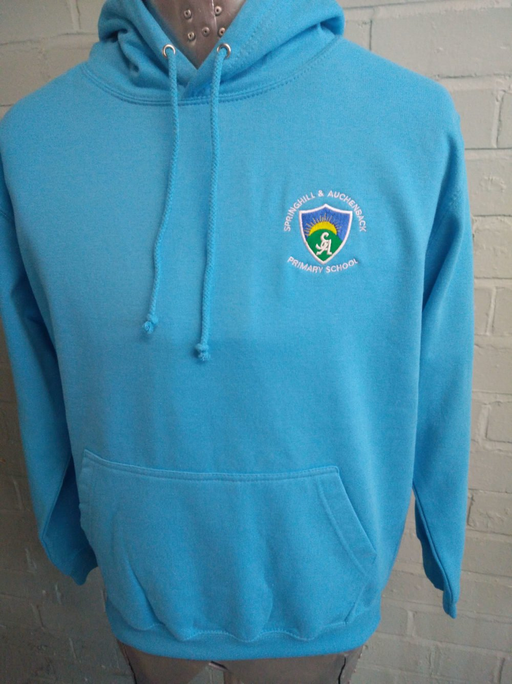 Springhill Primary Blue Leavers Hoodies 2017