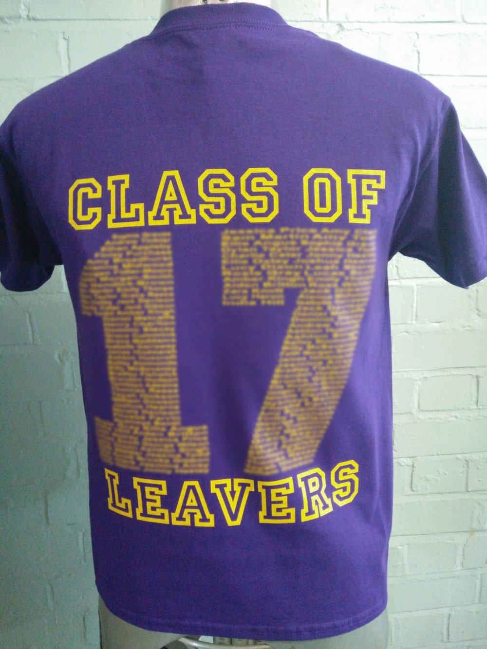 West Park Academy Purple Leavers T-Shirts