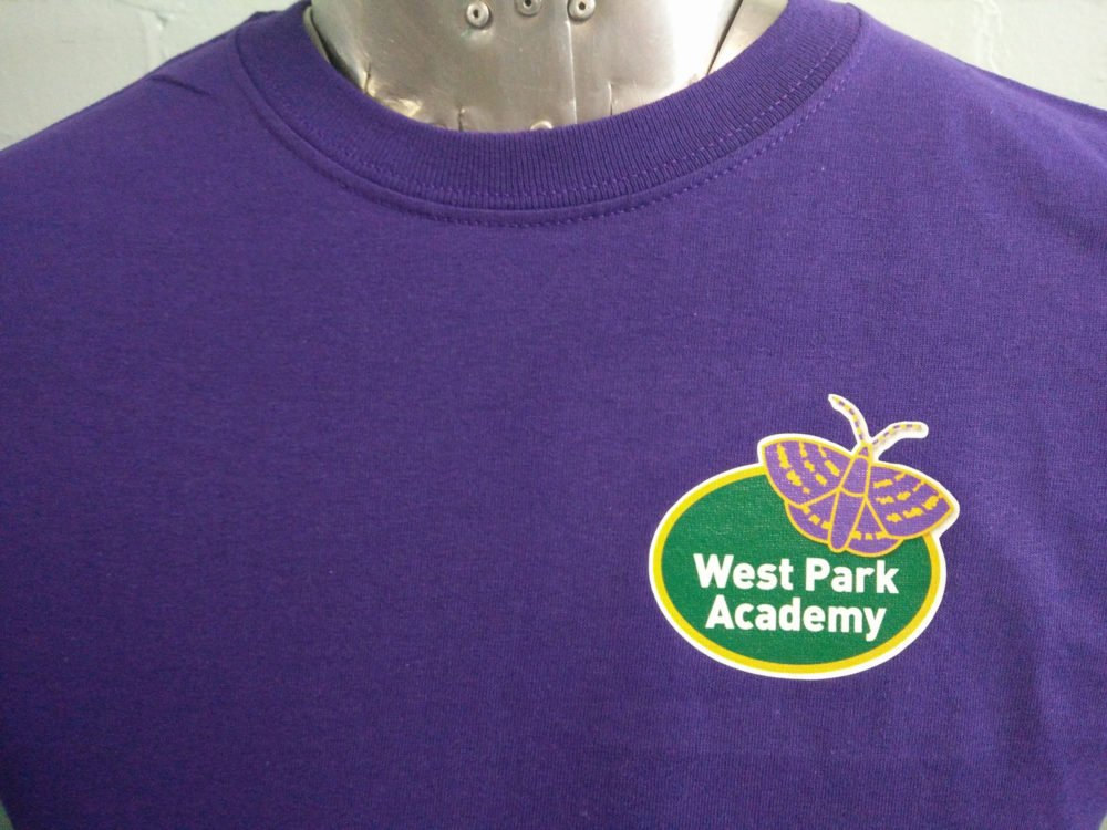 West Park Academy Purple Leavers T-Shirts