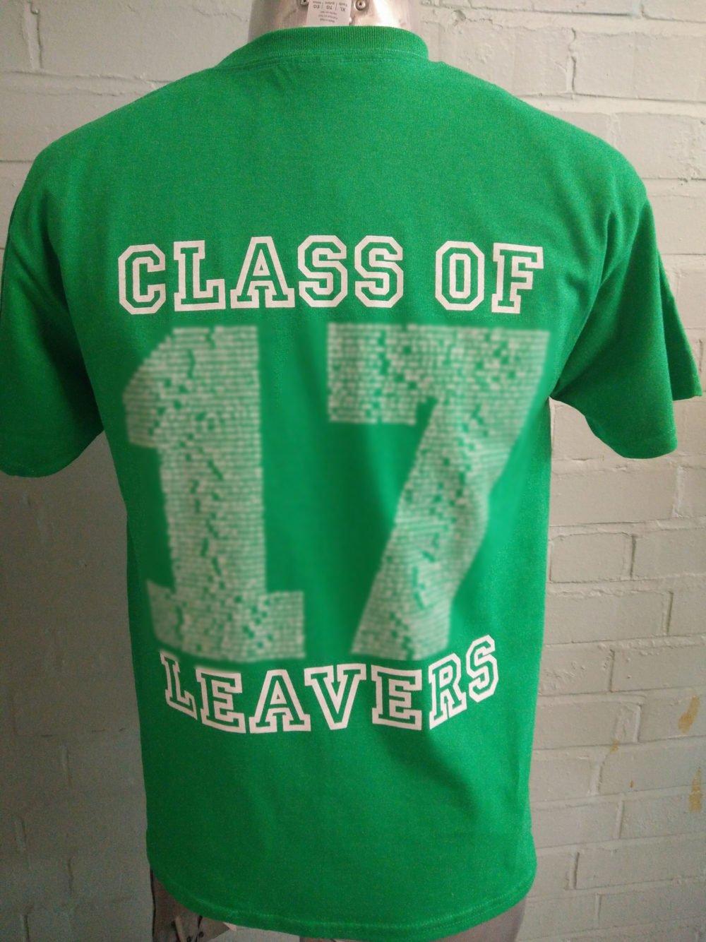 Greenside Primary School Leavers T-Shirts 2017