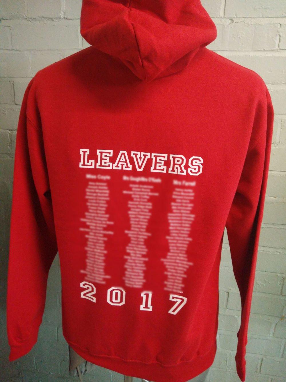 St Vincents School Leavers Hoodies 2017