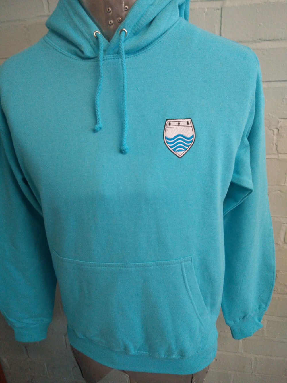 Bright Turquoise Leavers Hoodies 2017