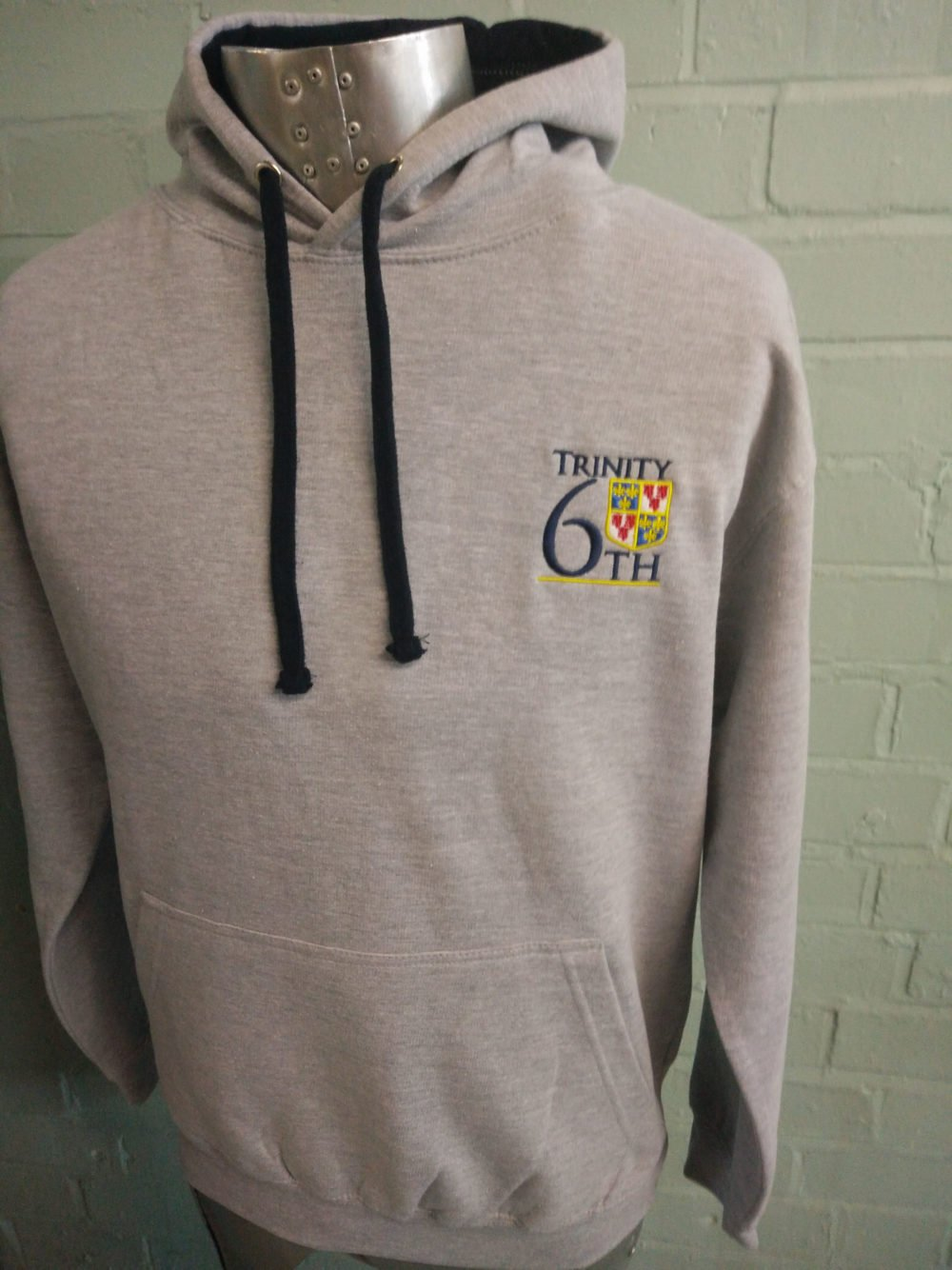 Trinity 6th Grey Leavers Hoodies 2017
