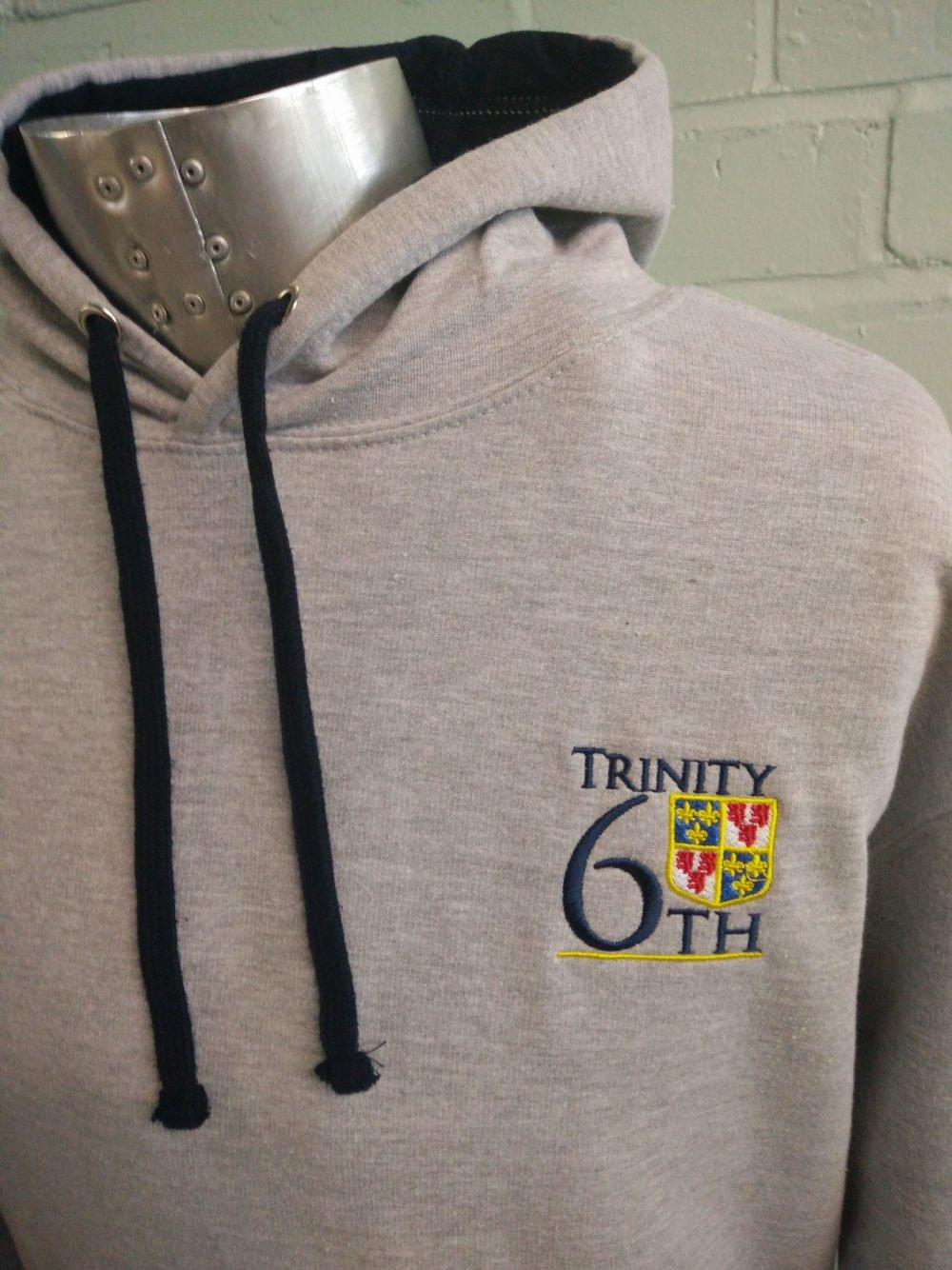 Trinity 6th Grey Leavers Hoodies 2017