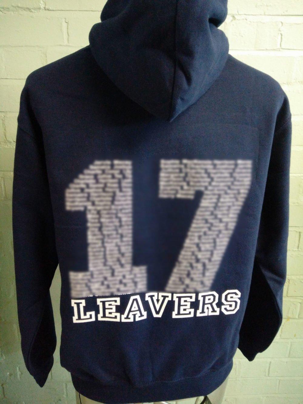 GLPA Navy Blue Leavers Hoodies 2017
