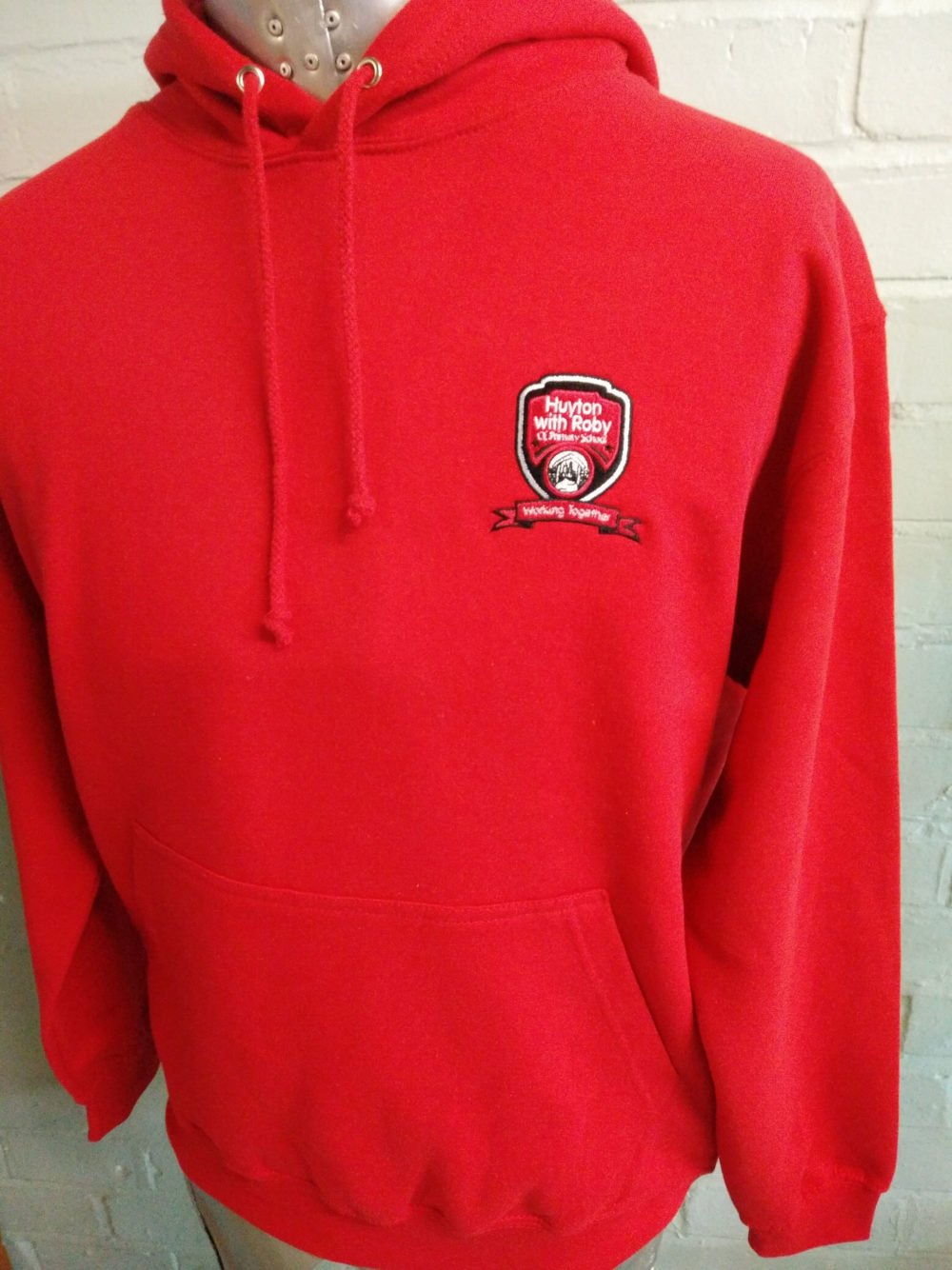 Huyton Red Levers Hoodies 2017