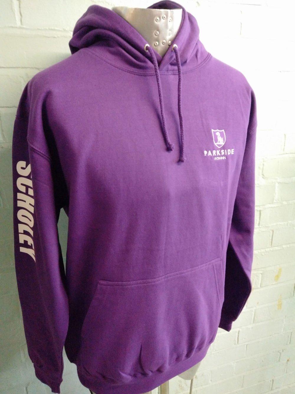 Parkside Custom Purple Leavers Hoodies 2017