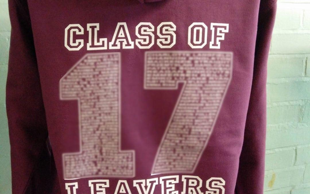 Whitton CP School Leavers Hoodies 2017