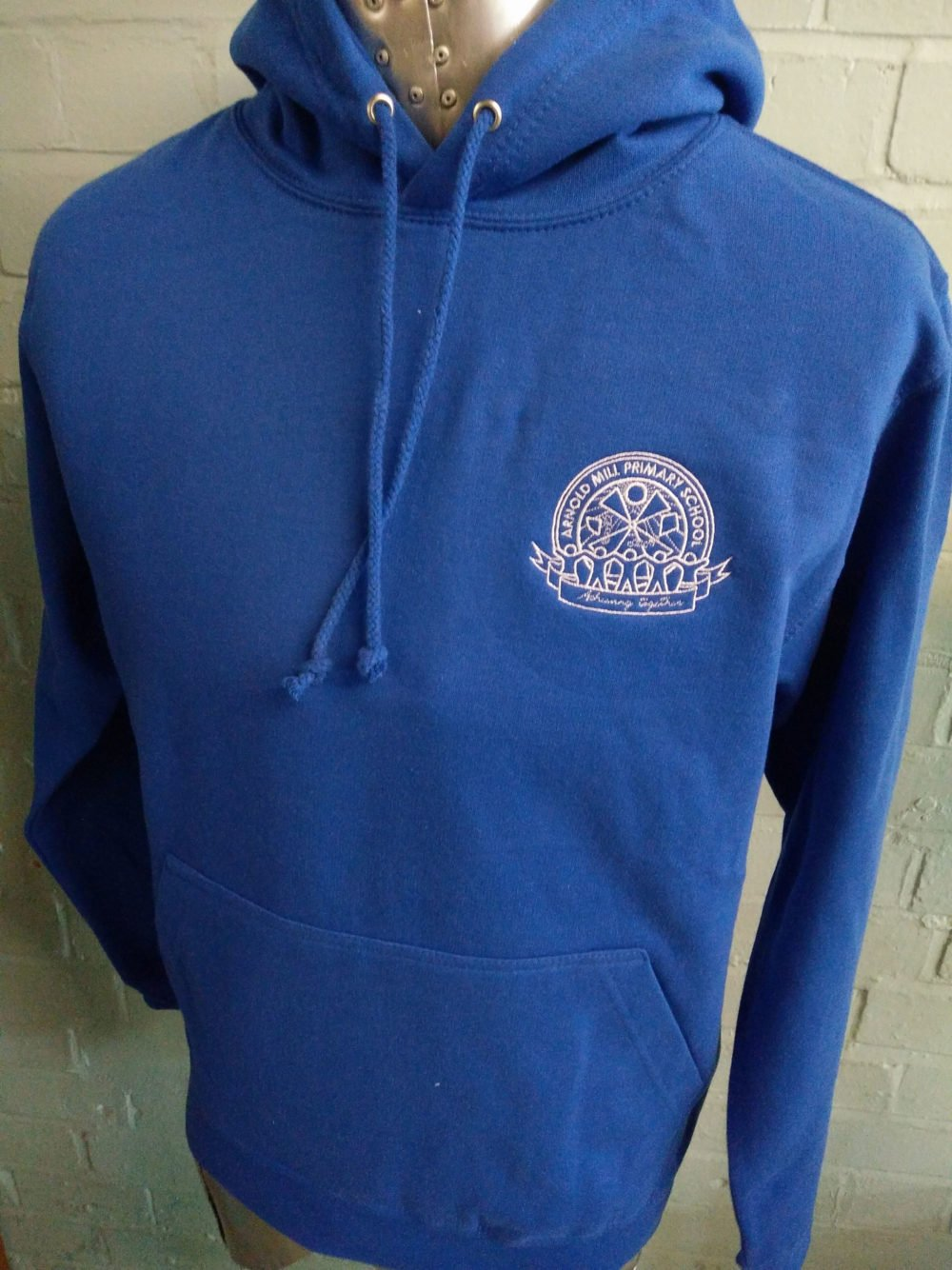 Arnold Mill Blue Custom Leavers Hoodies 2017