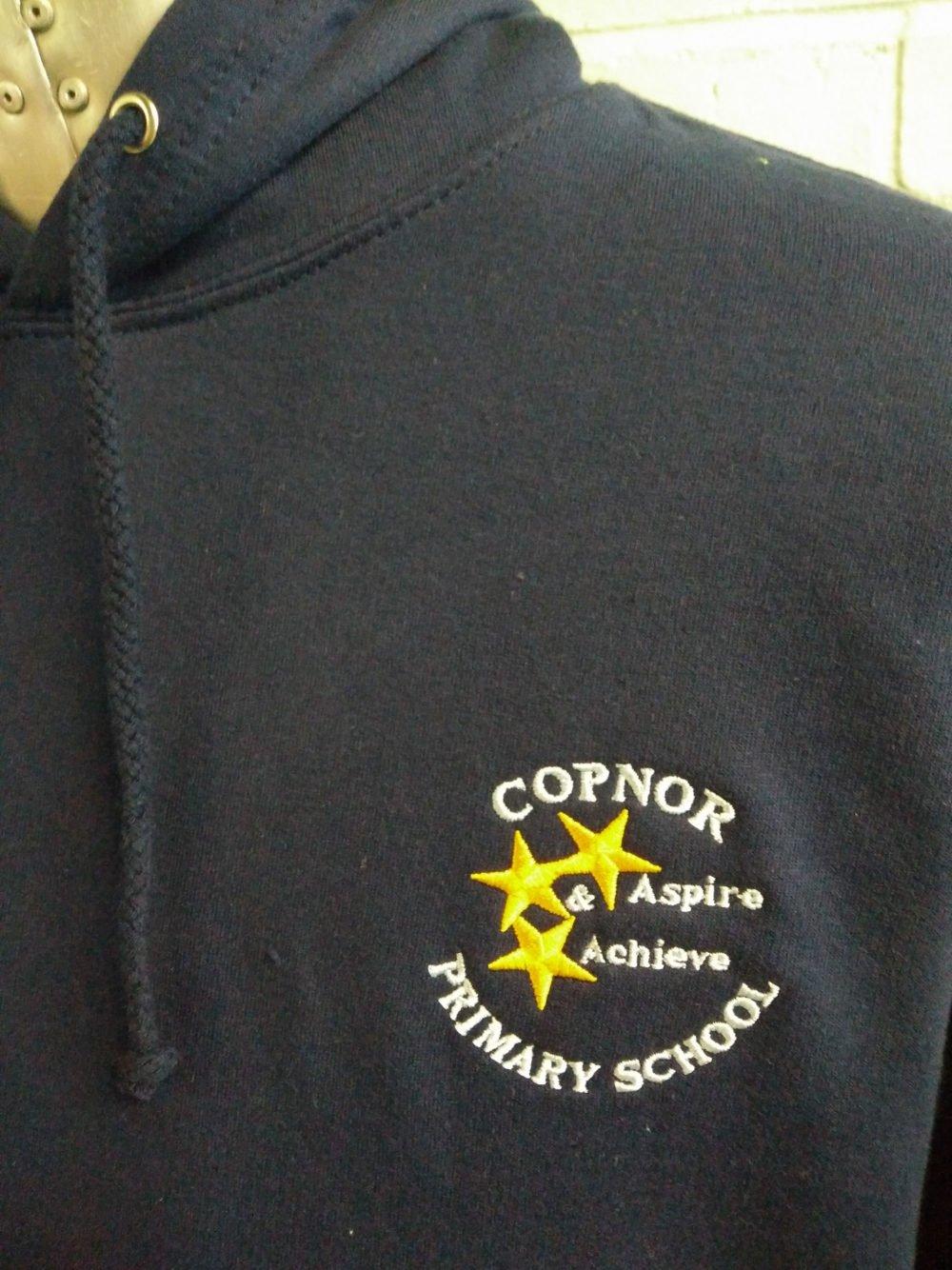 Copner PS Navy Custom Leavers Hoodies 2017