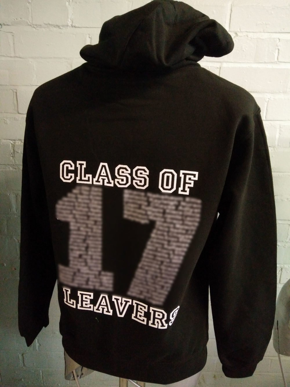 St Ursulas Academy Black Leavers Hoodies 2017