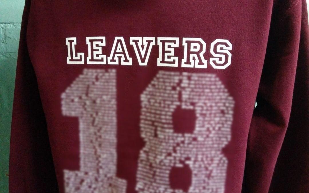 Langley Primary School Burgundy Leavers Hoodies