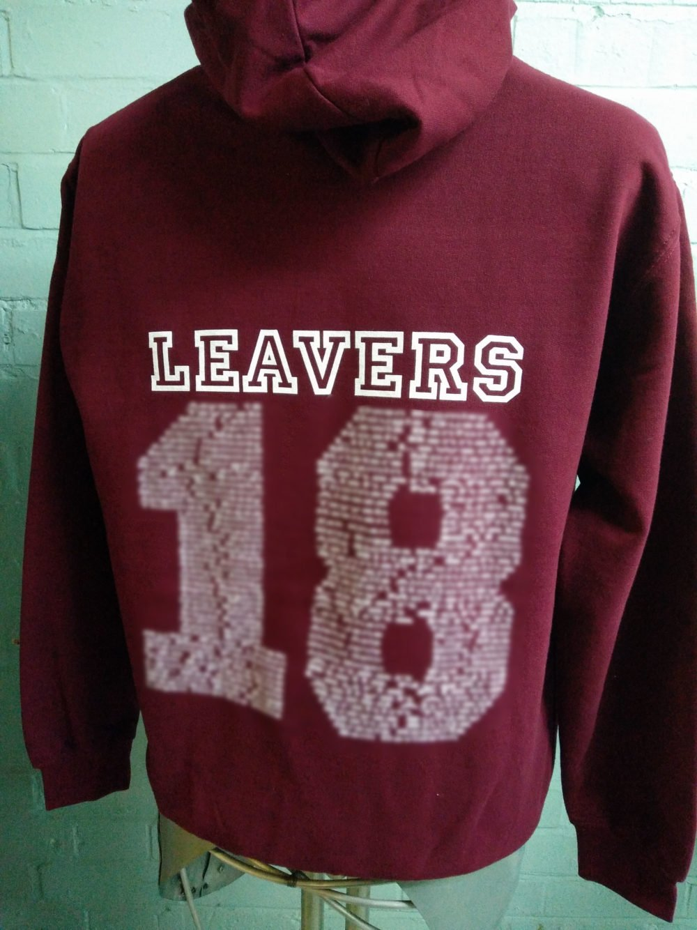 Langley Primary School Burgundy Leavers Hoodies
