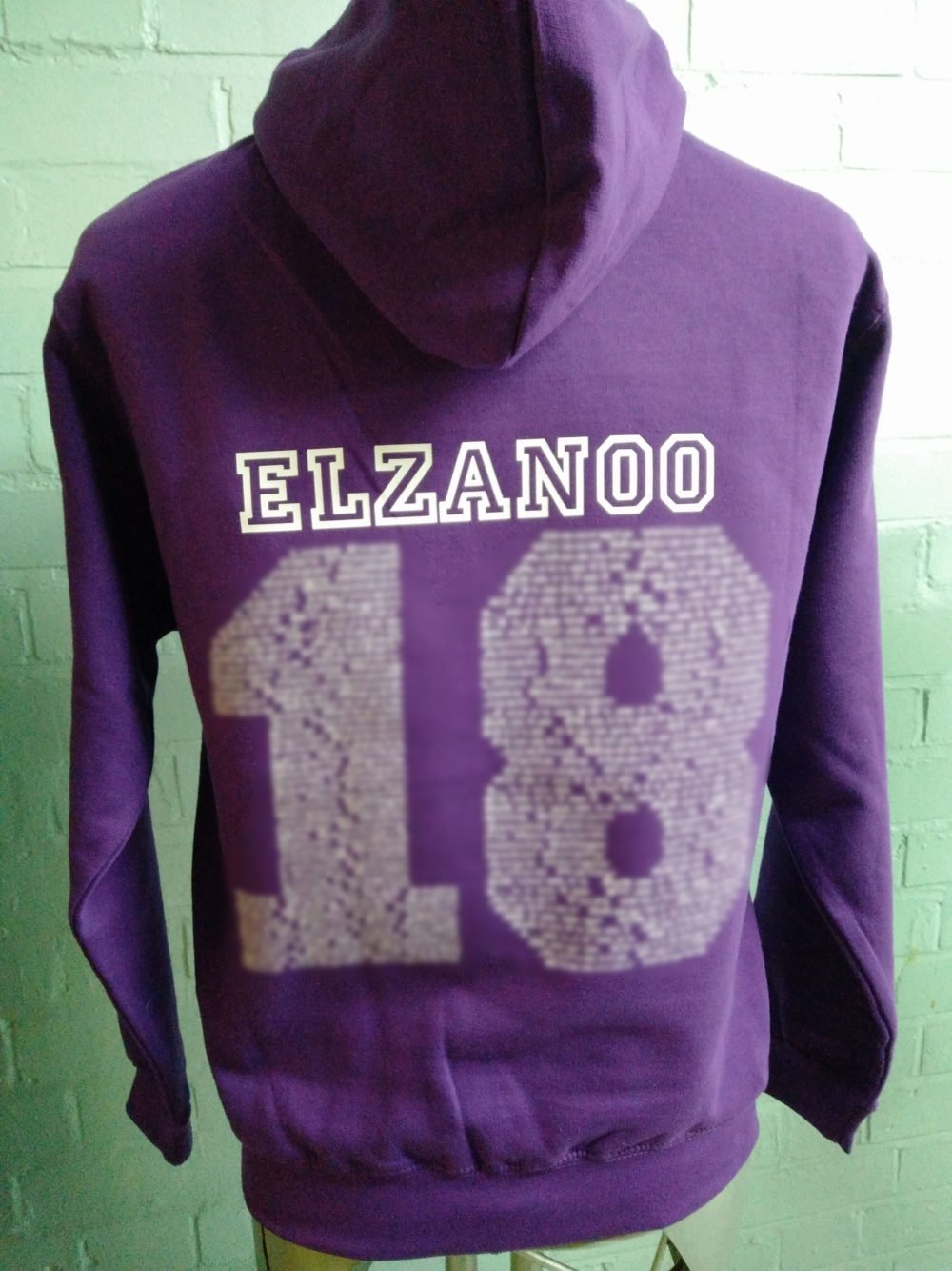 Purple Leavers Hoodies Class of 2018