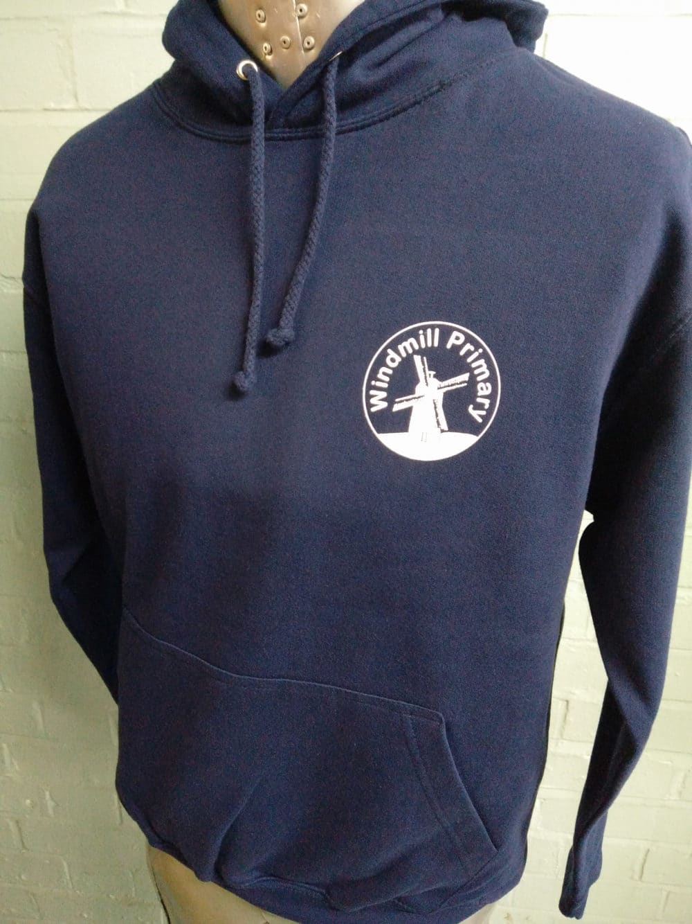 Windmill Primary Navy Leavers Hoodies 2018