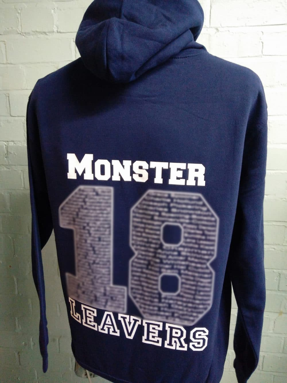 Laxton Junior Navy Leavers Hoodies 2018