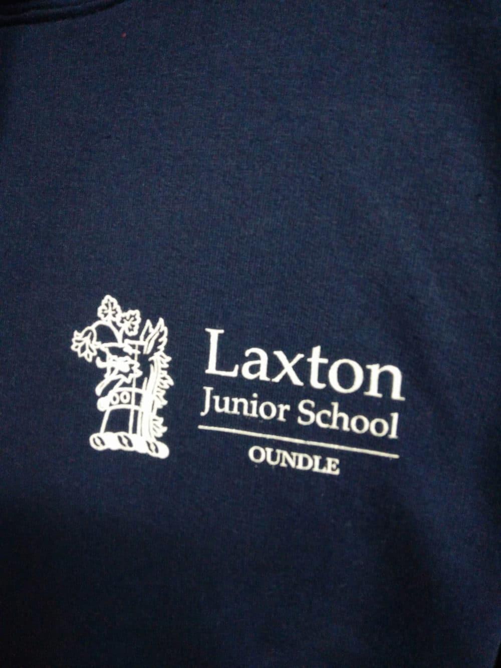 Laxton Junior Navy Leavers Hoodies 2018
