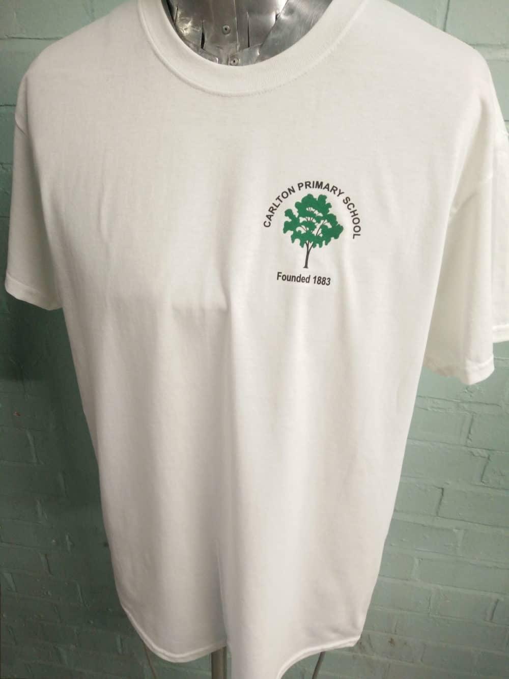White Carlton PS Leavers T-Shirts 2018