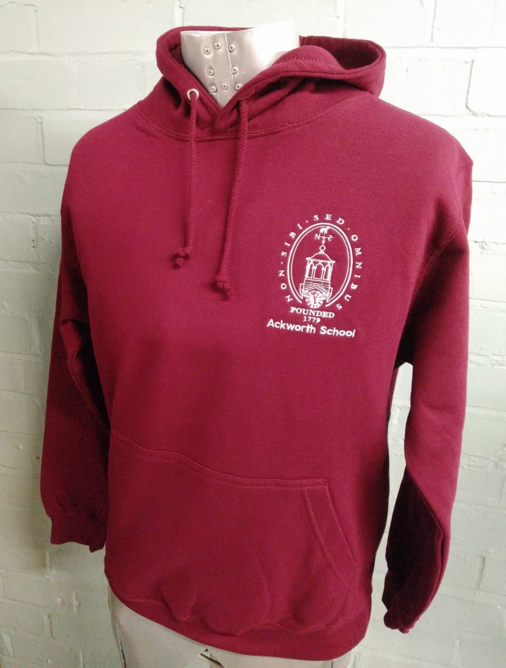 Ackworth School Leavers Hoodies 2018