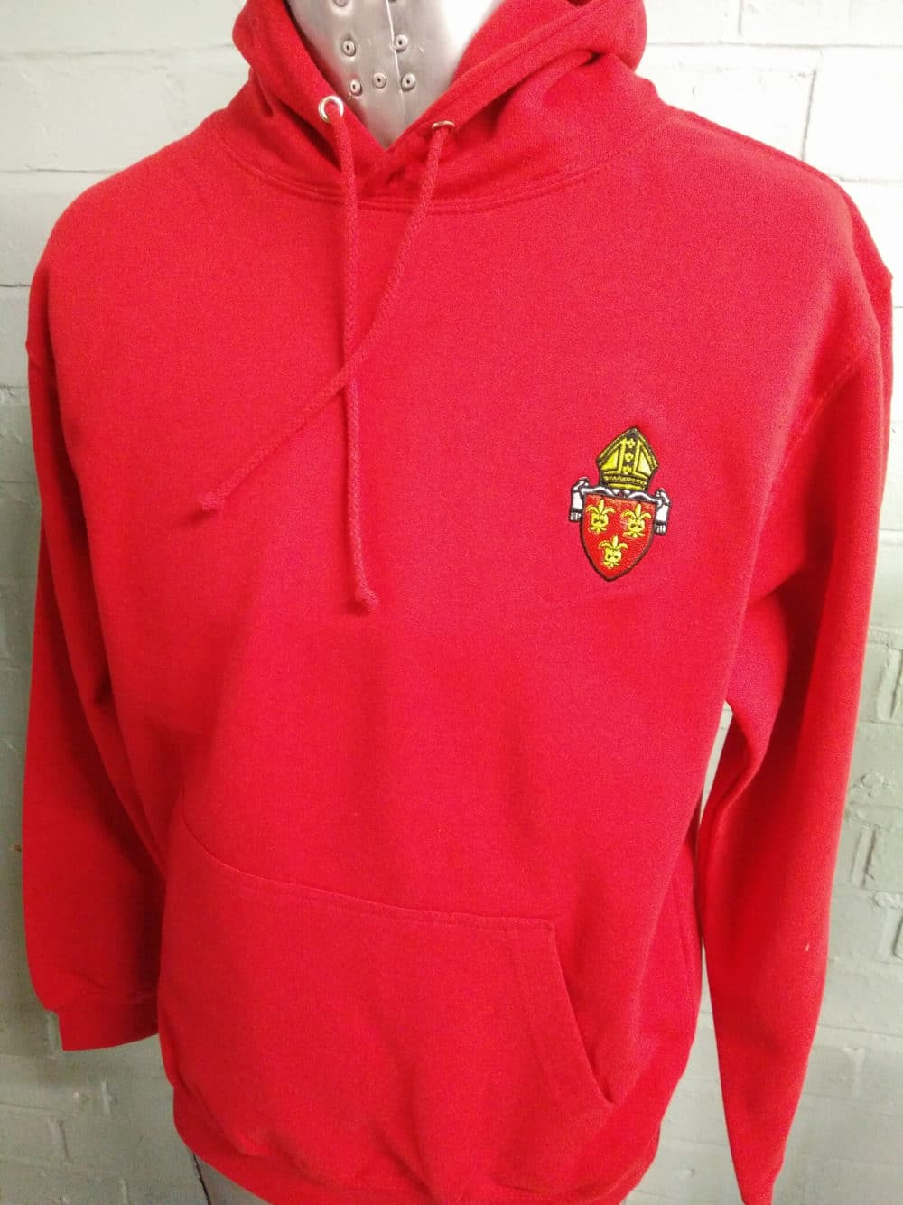 Bright Red Leavers Hoodies Class of 2018