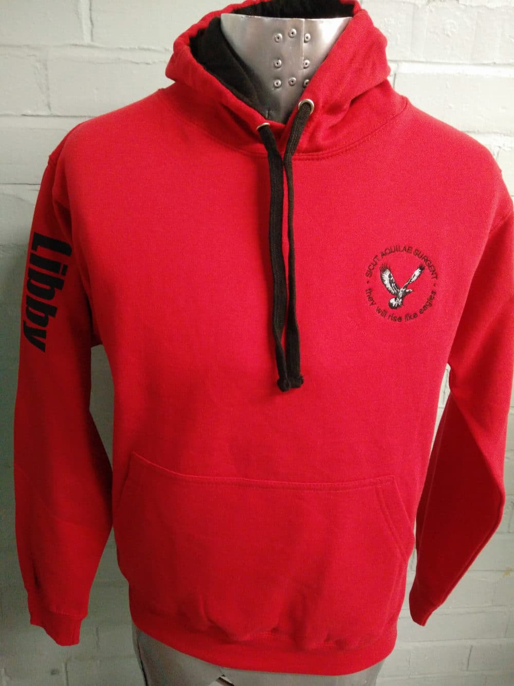 Eagles Red Class of 2018 Leavers Hoodies